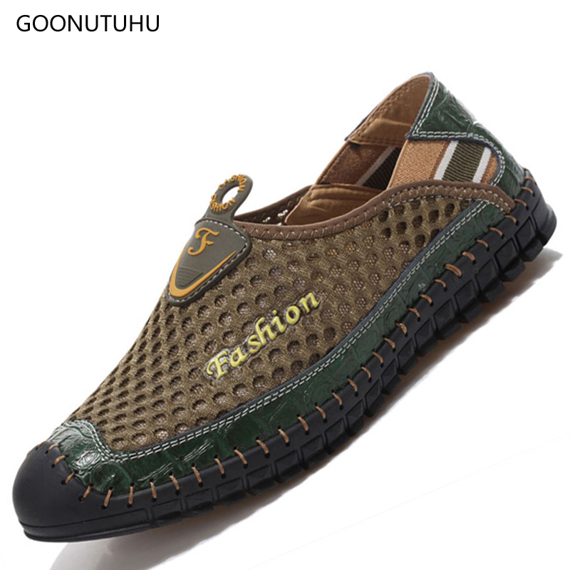 2018 Fashion Mens shoes casual platform summer new breathable air mesh shoes for men youth shoes light loafers man slip-on shoe2018 Fashion Mens shoes casual platform summer new breathable air mesh shoes for men youth shoes light loafers man slip-on shoe