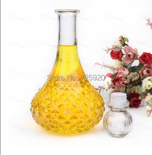 1pc Crystal Glass Wine Bottle Whiskey Liquor Jug Wine Decanter