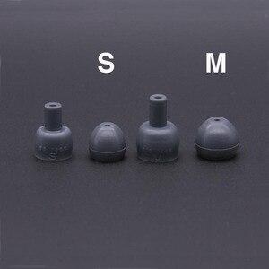Image 5 - 2 個/1 ペアシリコンin 耳イヤホンshureのカバー耳パッドヒントヘッド耳栓クッションイヤホン