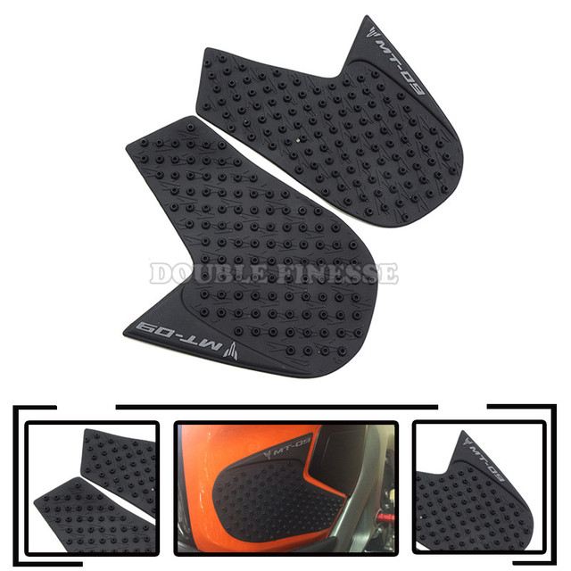 New Hot Motorcycle Carbon Fiber Tank Pad tank Protector Sticker For yamaha mt-09 mt 09 mt09 fz-09 fz 09 fj09 2014 2015 2016
