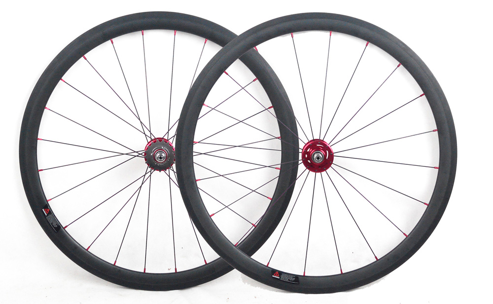32 holes track fixed gear single speed 700C carbon bicycle wheels 38mm deep tubular bike wheels 700C by hub A165SBT A166SBT track fixed gear front 38mm rear 50mm depth clincher single speed carbon track wheels road bike bicycle wheel 3k matte or glossy