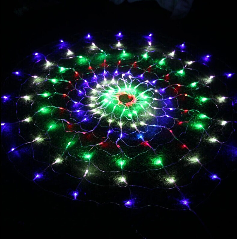 Creative Christmas lights.Spider web LED twinkle light. Outdoor patio roof  decoration flashing lights. LED holiday lights series-in Holiday Lighting  from ... - Creative Christmas Lights.Spider Web LED Twinkle Light. Outdoor