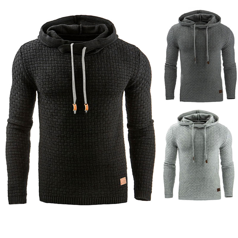 Fashion Men Winter Autumn Hoodie Warm Sweatshirt Hooded Coat Outwear Pullover Tops -MX8