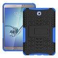 Kickstand Броня Силиконовый Чехол для Samsung Tab S2 8.0 Случае хен Гибридный Чехол для Samsung Tab S2 8.0 Случае T710 T715