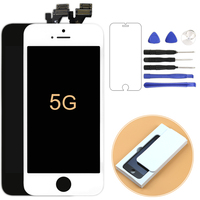 100 Guarantee For Iphone 5G Lcd Screen Display With Touch Digitizer Full Assembly Black White
