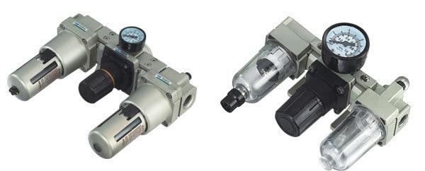 SMC Type pneumatic frl Air combination AC3000-03 smc type pneumatic solenoid valve sy5120 3lzd 01