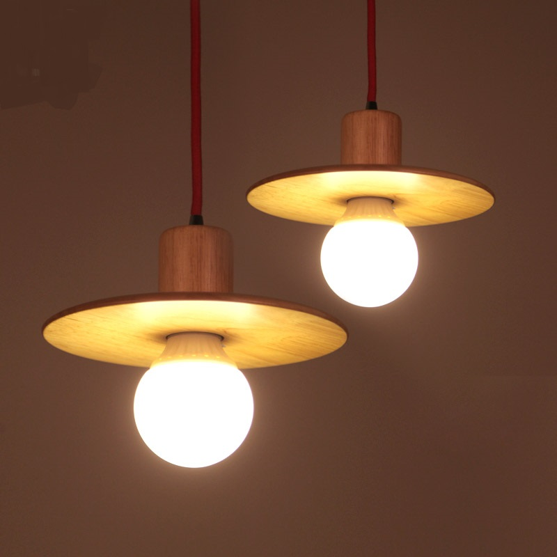 lmparas colgantes de diseo creativo bar bar cafe luces colgantes nuevo restaurante chino de madera maciza