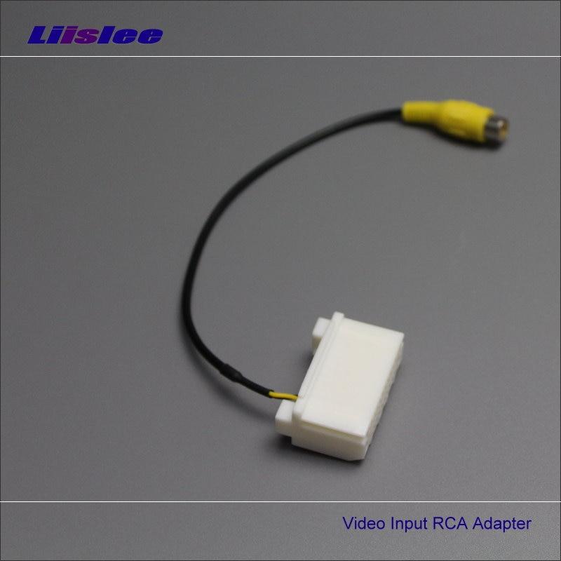 imágenes para Adaptador de Conector del Cable de Alambre del coche Para Jeep Compass/Wrangler Rubicon/Patriot Cámara de Visión Trasera Original del Interruptor de Entrada RCA