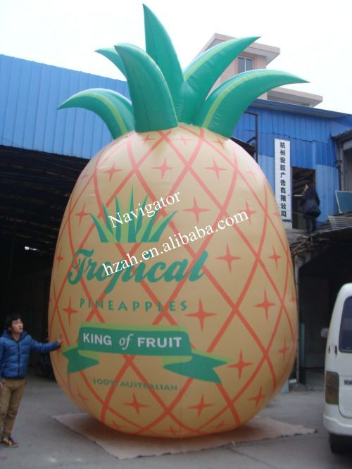 Giant Inflatable Pineapple Model for Advertising Decoration x077 5m high inflatable giant christmas santa claus with blower freeshipping for advertising