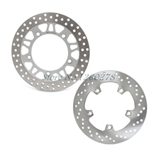 New Motorcycle Front & Rear Brake Disc Rotor For Suzuki AN650 2004 2005 2006 2007 2008 2009 2010 2011 2012 AN 650