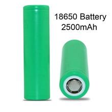 Electronic Cigarette Battery 18650 Vape Box Mod Original Brand 2500mAh 18650 Battery for E-cigarette Vaporizer X1053
