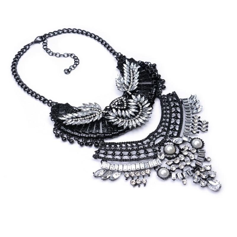Black dress necklace vial