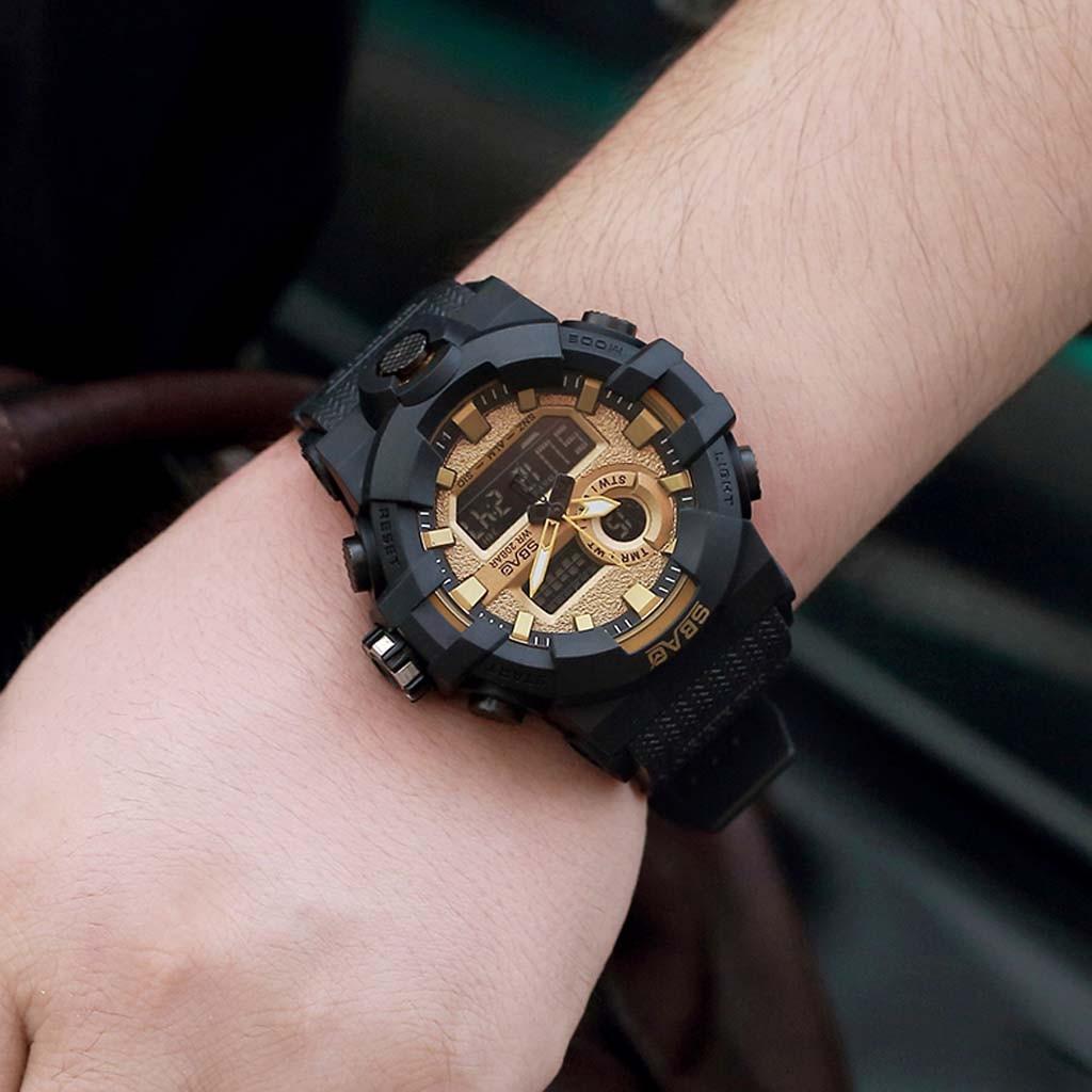 Uhren Sbao Mode Casual Marke Herren Uhr Outdoor Sport Wasserdichte Wecker Multi-funktion Elektronische Herren Uhr Uhren Zegarek Entlastung Von Hitze Und Sonnenstich Digitale Uhren