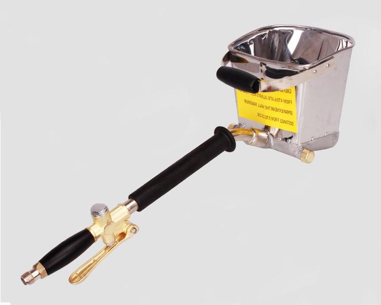 Professional upgrade Air Stucco sprayer Mortar sprayer Plaster sprayer Cement sprayer gun hopper gun hand Wall Plastering  цены