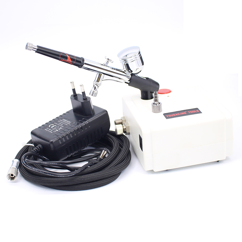 Hot Sale Air brush model pump nail art pump tortoise pump drawing airbrush painted model spray pump Pneumatic Painting Gun Tool  цены