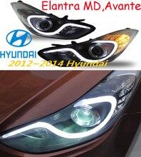 Elantra headlight Avante MD 2012 2015 LHD RHD need add 200USD Free ship Elantra fog light