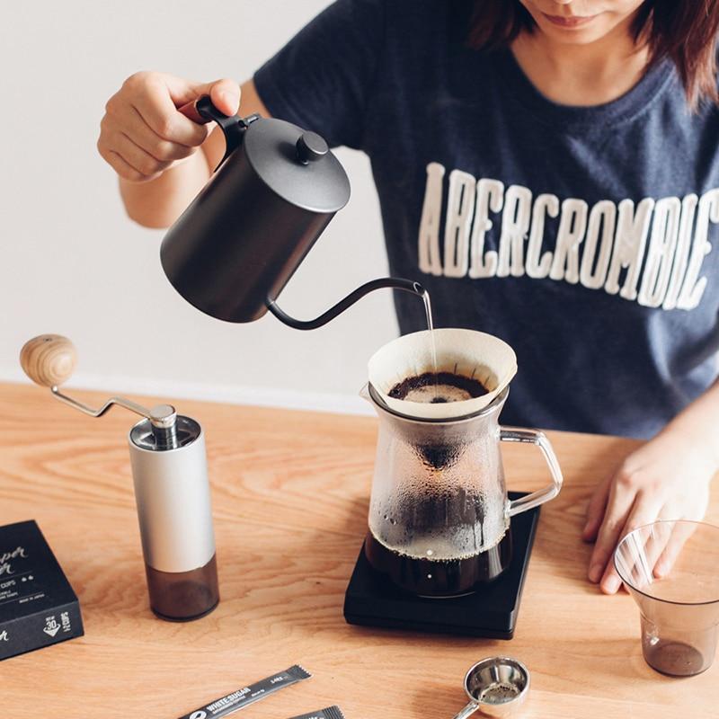 Balance électrique domestique 3 kg/0.1g balance à café amovible Double bouton avec minuterie de LED balance de cuisine numérique électronique - 6