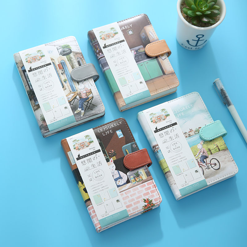 Leisure Life Lovely Corticograph Schedule Daily Plan Hand Book Creative Office Stationery For S In Notebooks From School Supplies On