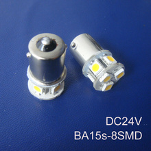 High quality 24V 1156 Truck led bulbs BA15s BAU15s P21W R5W goods van led lamps 24V BAU15s 1141 led bulbs free shipping 5pcs/lot
