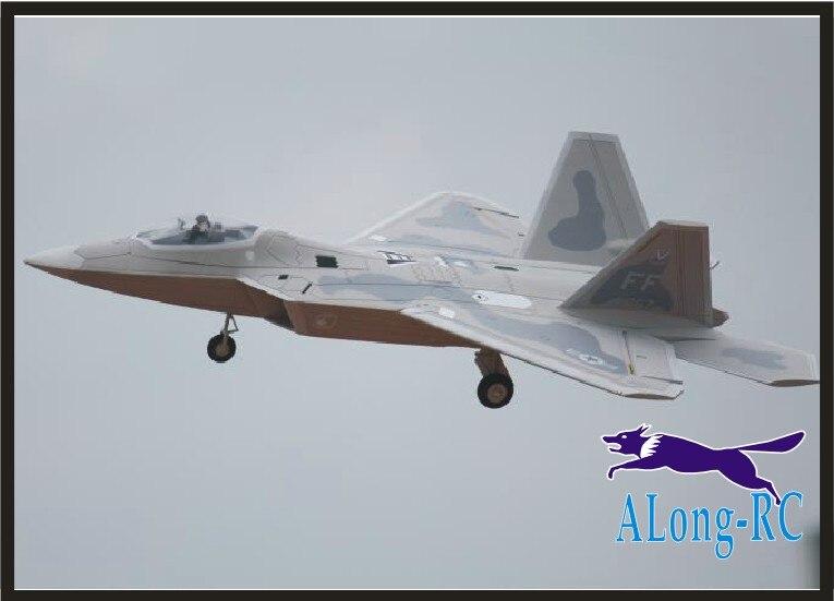 GRATIS WING 64 jet F22 F 22 Raptor stealth vechter EPO vliegtuig vliegtuig RC MODEL HOBBY SPEELGOED 64mm EDF 4 kanaals vliegtuig (hebben KIT of PNP)-in RC Vliegtuigen van Speelgoed & Hobbies op  Groep 1