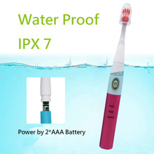 Electric Battery sonic toothbrush For Adult IPX 7 Full Body Water Proof Brosse A Dent 3 Modes 360 Degrees Deep Cleaning Massage