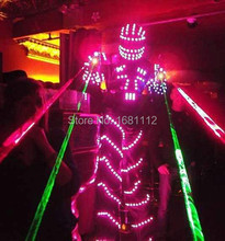 LED Costume /LED Clothing/Light suits/ LED Robot suits/ Luminous costume/ led lights costumes