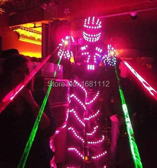 LED Costume /LED Clothing/Light Suits/ LED Robot Suits/ Luminous Costume/ Led Lights Costumes