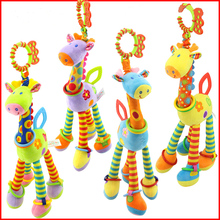 Baby Teether Toys Spiral Bed Soft Pram Hanging Teething Stroller Toy Infant Gifts Silicone Product 37cm в г симаков уличные печи и барбекю