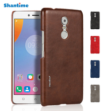 High Quality Vintage Luxury PU Leather Phone Cases For Lenovo K6 NOTE Cover Mobile Phone Accessories Case