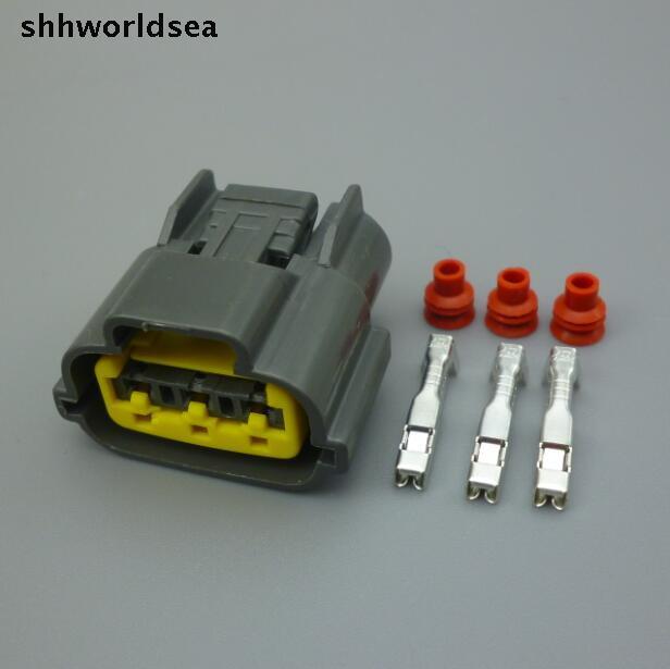 Shhworldsea 10set 3pin Auto Ignition Coil Plug  Ignitor
