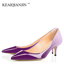KEAIQIANJIN Woman Heels Leopard Shoes Big Size 43 44 Party Sexy Purple Shoes Blue White Green Pink Stiletto Wedding Bridal Shoes free shipping italy shoes and matching bag set for women for wedding party pink pu size 38 43 no gf13 pink