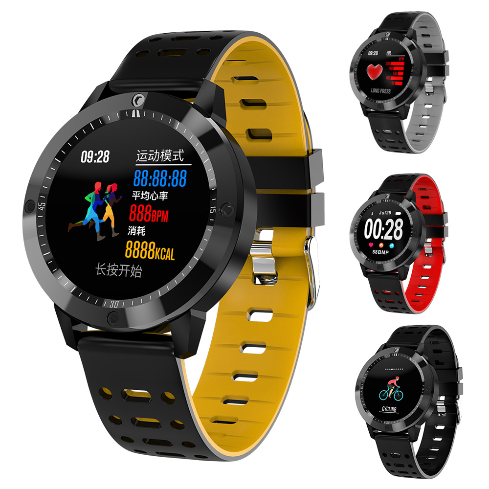 CF58 Smart watch IP67 waterproof Tempered glass Activity Fitness tracker Blood Pressure Heart rate monitor Sports Men smartwatch colmi v11 smart watch ip67 waterproof tempered glass activity fitness tracker heart rate monitor brim men women smartwatch