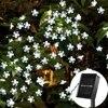7M Solar String Christmas Lights Outdoor 23 Ft 50 LED 8 Mode Waterproof Flower Garden Blossom
