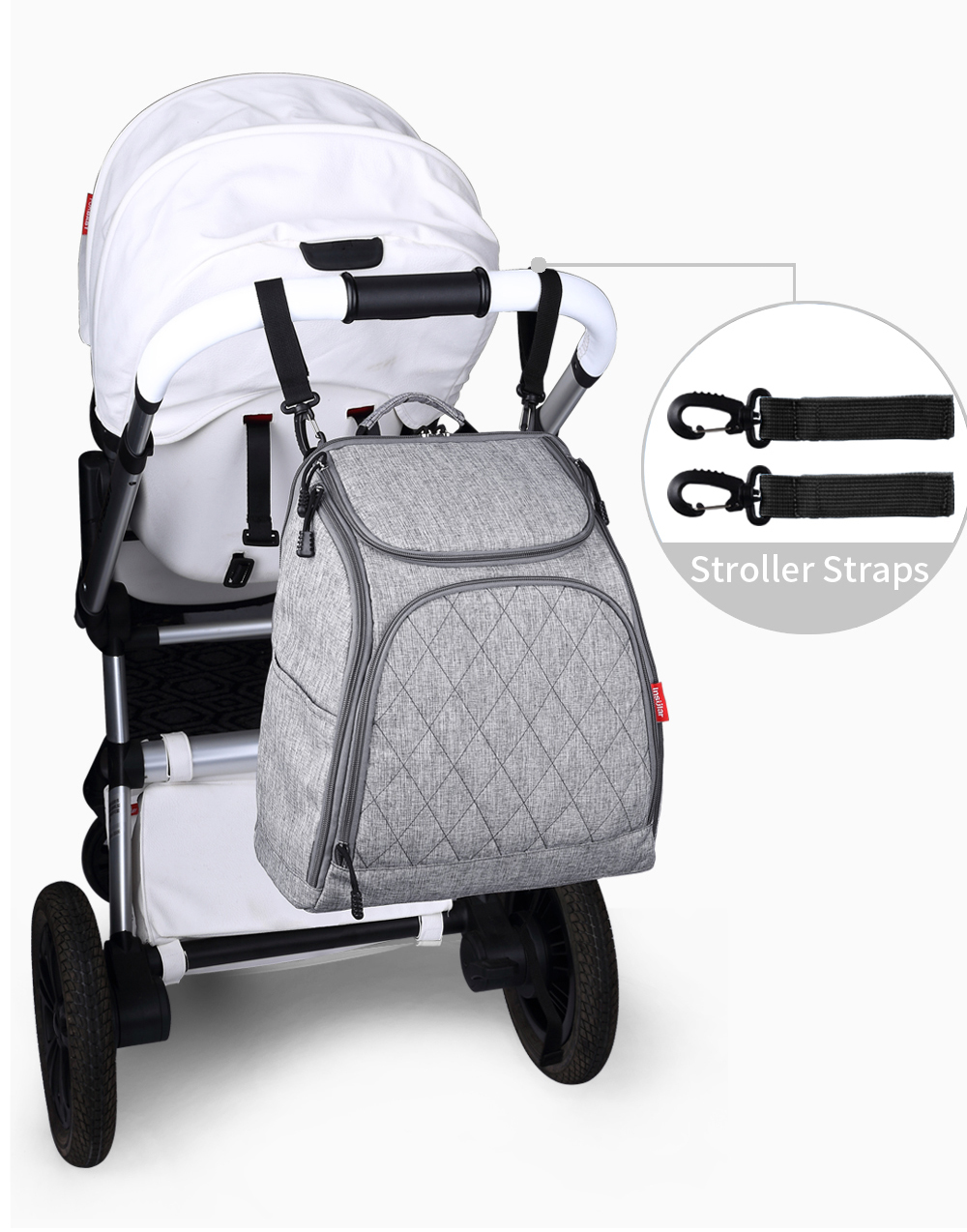 INSULAR Fashion Maternity Nappy Backpack Brand Large Capacity Baby Diaper Stroller Bag Baby Nursing BagINSULAR Fashion Maternity Nappy Backpack Brand Large Capacity Baby Diaper Stroller Bag Baby Nursing Bag