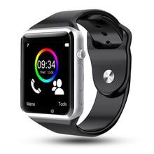Купить с кэшбэком  A1 WristWatch Bluetooth Smart Watch Sport Bracelet Pedometer SIM TF Camera  Fitnesse Tracker For HUAWEI Xiaomi VS DT09 Q15