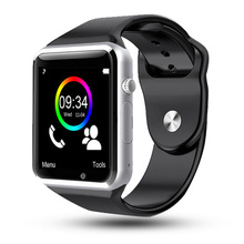 A1 zegarek Bluetooth smart watch Sport bransoletka krokomierz SIM TF kamera Fitnesse Tracker dla HUAWEI Xiaomis postawy polityczne w DT09 Q15 tanie tanio Noctilucent Passometer Czas światowy Uśpienia tracker Fazy Księżyca Duże Trzy Igły Attemper Odliczanie Mały Druga