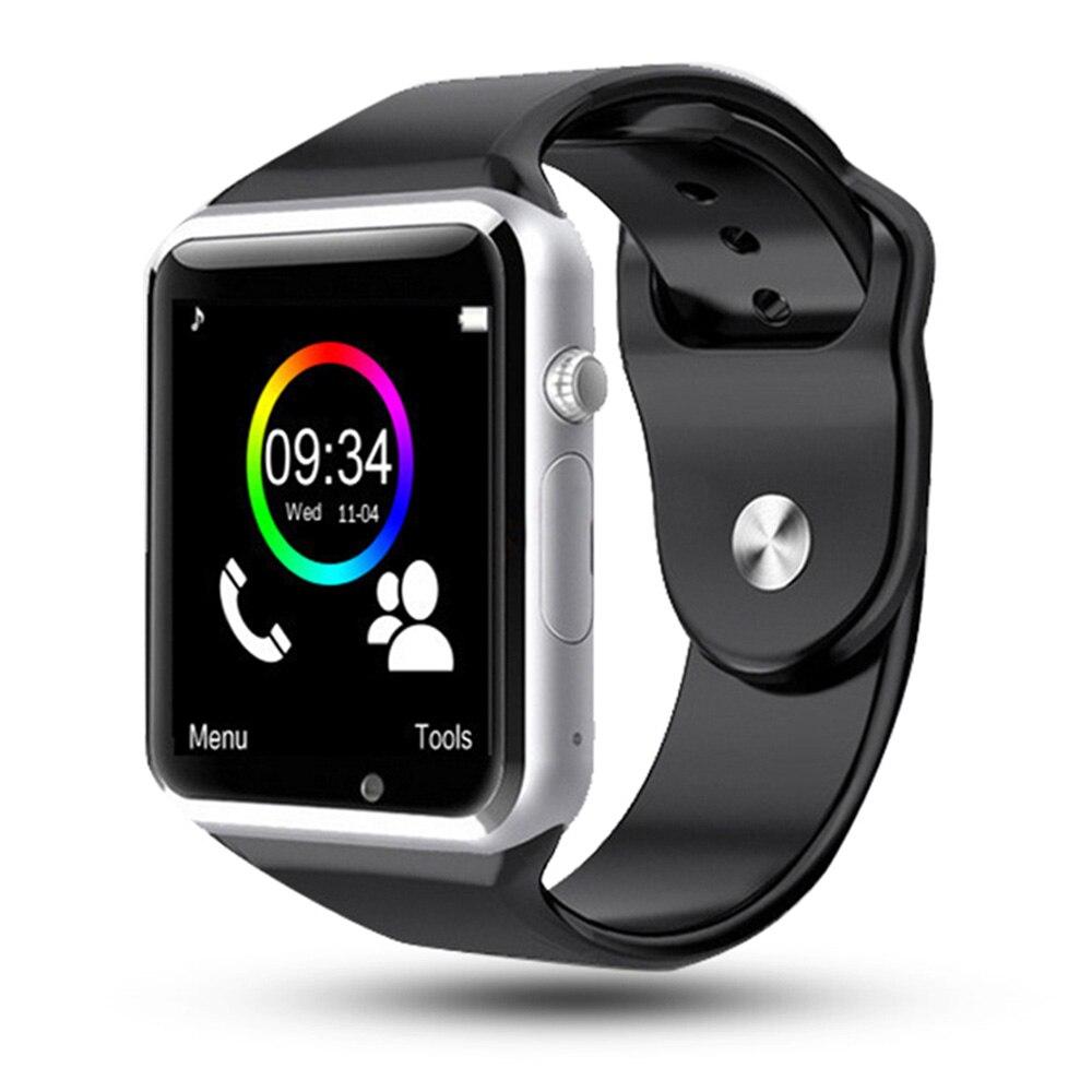 Relógio Do Esporte Relógio De Pulso Do Bluetooth Inteligente Pulseira Pedômetro A1 SIM TF Câmera Rastreador Para HUAWEI Xiaomi VS DT09 Q15 Fitnesse