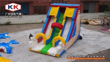 big hand inflatable slide with new design giant inflatable slide for sales outdoor structures inflatable toys for kids