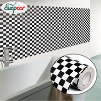 Nieuwe waterdichte Mozaïek PVC zelfklevende Behang voor Keuken Badkamer tegel Decoratieve film Olie proof Backsplash Stickers poster