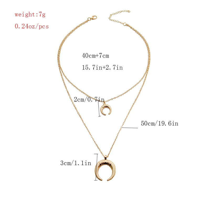 Gold Alloy Round Pendant Necklace for Women Simple Female Long Chain Coin Necklace Rose Flower Collier 18 Wholesale 27