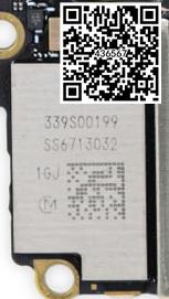 3 pçs/lote 339s00199 wifi módulo ic para iphone 7 7g iphone 7 plus 7 p alta temperatura tipo de chips wi-fi