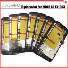 10 Piece/lot For Motorola MOTO G2 G+1 XT1063 XT1068 LCD Display Touch screen Digitizer Assembly For MOTO G 2nd XT1069 LCD