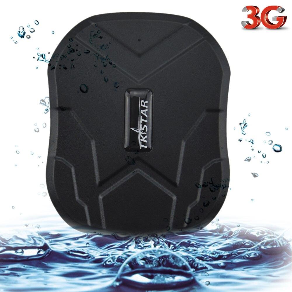 À prova d' água 2G 3G TK905 TKSTAR GPS Veículo Rastreador Do Carro Localizador GPS 5000mAh 90 Dias de Espera de Voz do Ímã monitor Free Web APP