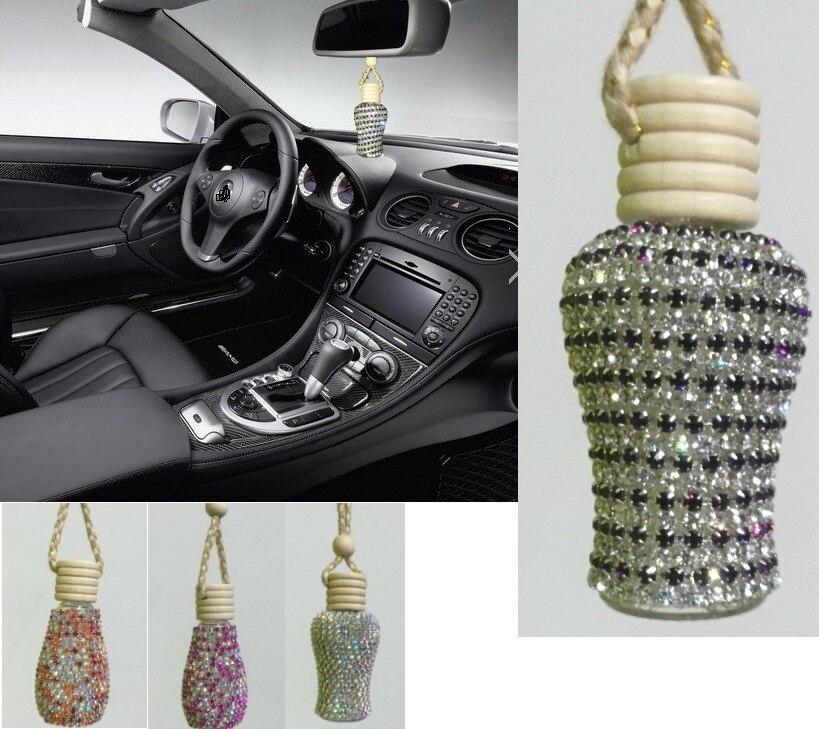 Beautiful car styling perfume pendant las