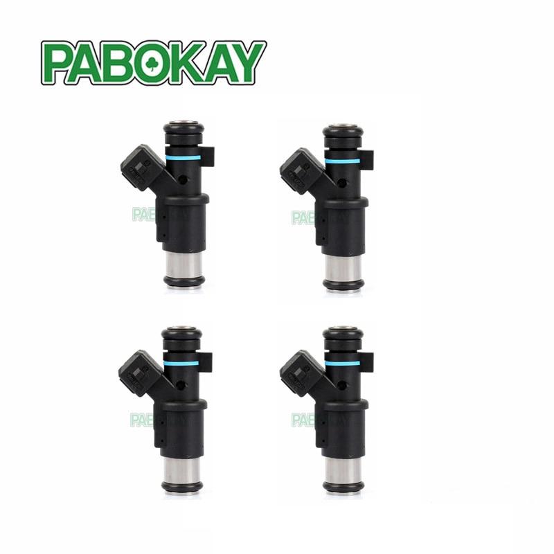 4 pieces x Petrol Fuel Injector FOR Peugeot 206 306 307 1007 Partner 1 4 i