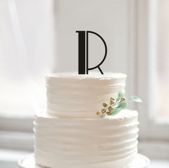wedding cake letters letter r cake toppers unique wedding cake topper rustic 23081