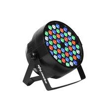 Eyourlife Discolicht Par LED 162W Lichteffekt DMX512 RGBW Stage Light 54x3W -EU Stecker