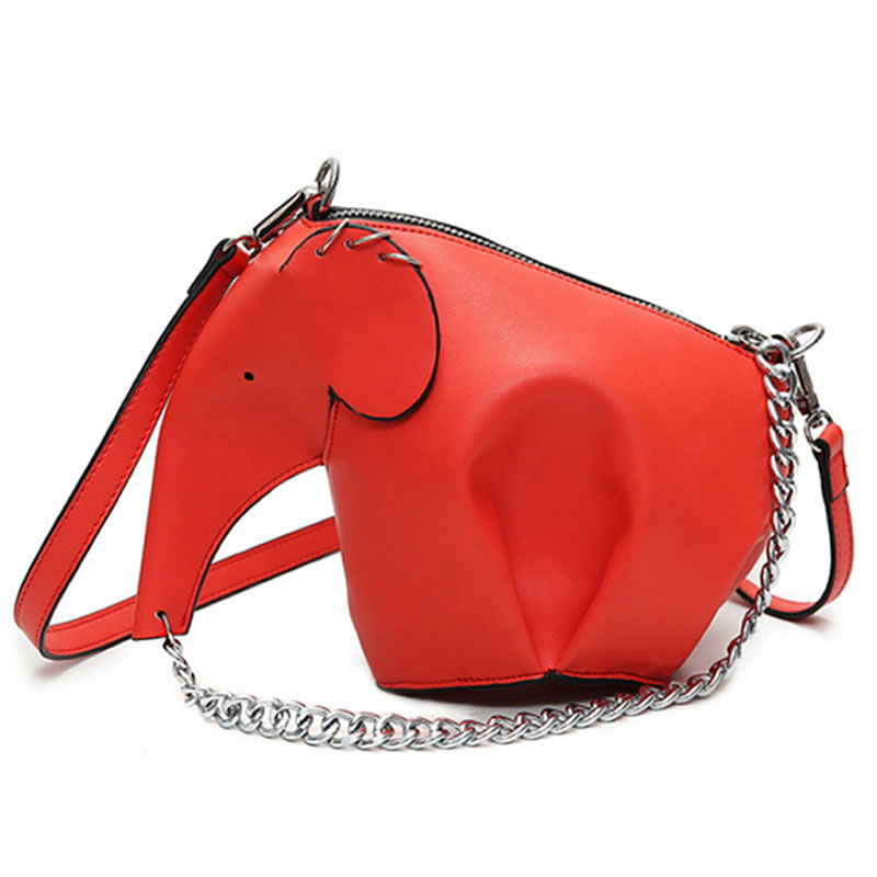 Fashion Cartoon Elephant Bag Women Leather Shoulder Bag Causal Messenger Crossbody Bag Phone Coin Purses Handbags fashion women leather handbag crossbody shoulder messenger phone coin bag for party or appointment as designer gift a7