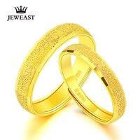24 К Золотое кольцо реального AU 999 массивные золотые кольца хороший простой матовый высококлассные Мода Классические Вечерние Fine Jewelry Лидер