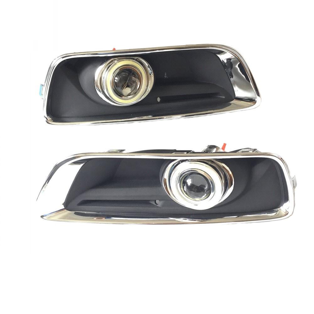 For Chevrolet Malibu 2013 to 2016 White Angel Eyes DRL Yellow Signal Light H11 Halogen Xenon